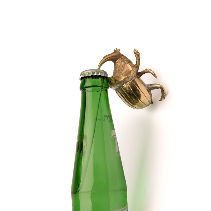 Rhinoceros Beetle Bottle Opener Home Objects Dining Table top