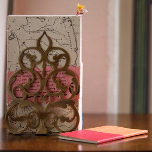 Sandook Bookend/Votive Holder