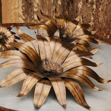 Surajmukhi Wall Flower 180 mm Wall decor , Display Handcraft, beautiful wall decoration, handcrafted , vintage ancient  wall decor, sunflower decoration