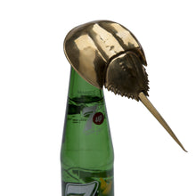 Horseshoe Crab Bottle Opener, handcrafted, handmade