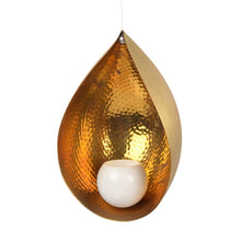Oas Marble Ball Candlestand handbeated Hanging Outdoor Brass Marble