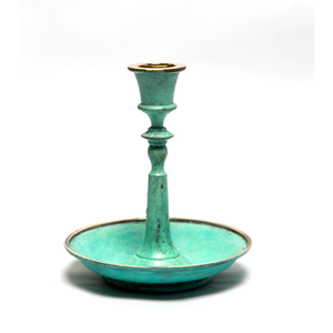 Zebrowski Candlestand Home Objects	Table top, home decoration, ancient vintage candle stand
