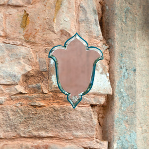 Aaina Lal Kila Deep TurquoiseWall decor , wall storage , Mirror ,cut glass Living Both Genders Diwali Not Applicable Respectful/Mindful Wedding Hospitality