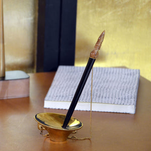 Babu Moshai Pen W/Stand , Stationery , Writing Tools , Desktop, table top