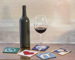 Social Coaster CALL (Set of Two) Home Objects Table top