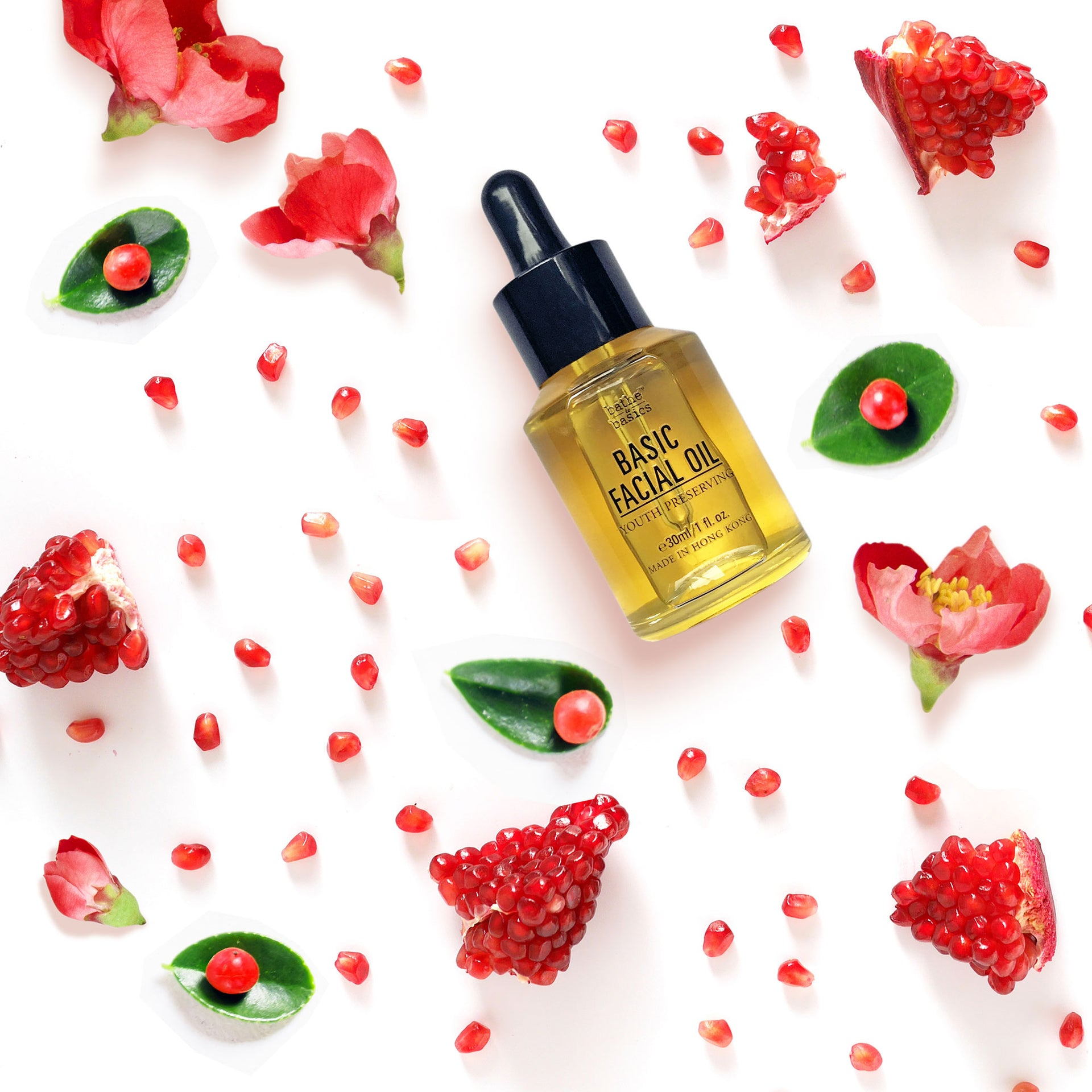 Natural Basic Facial Oil - Youth Preserving - Bathe to Basics