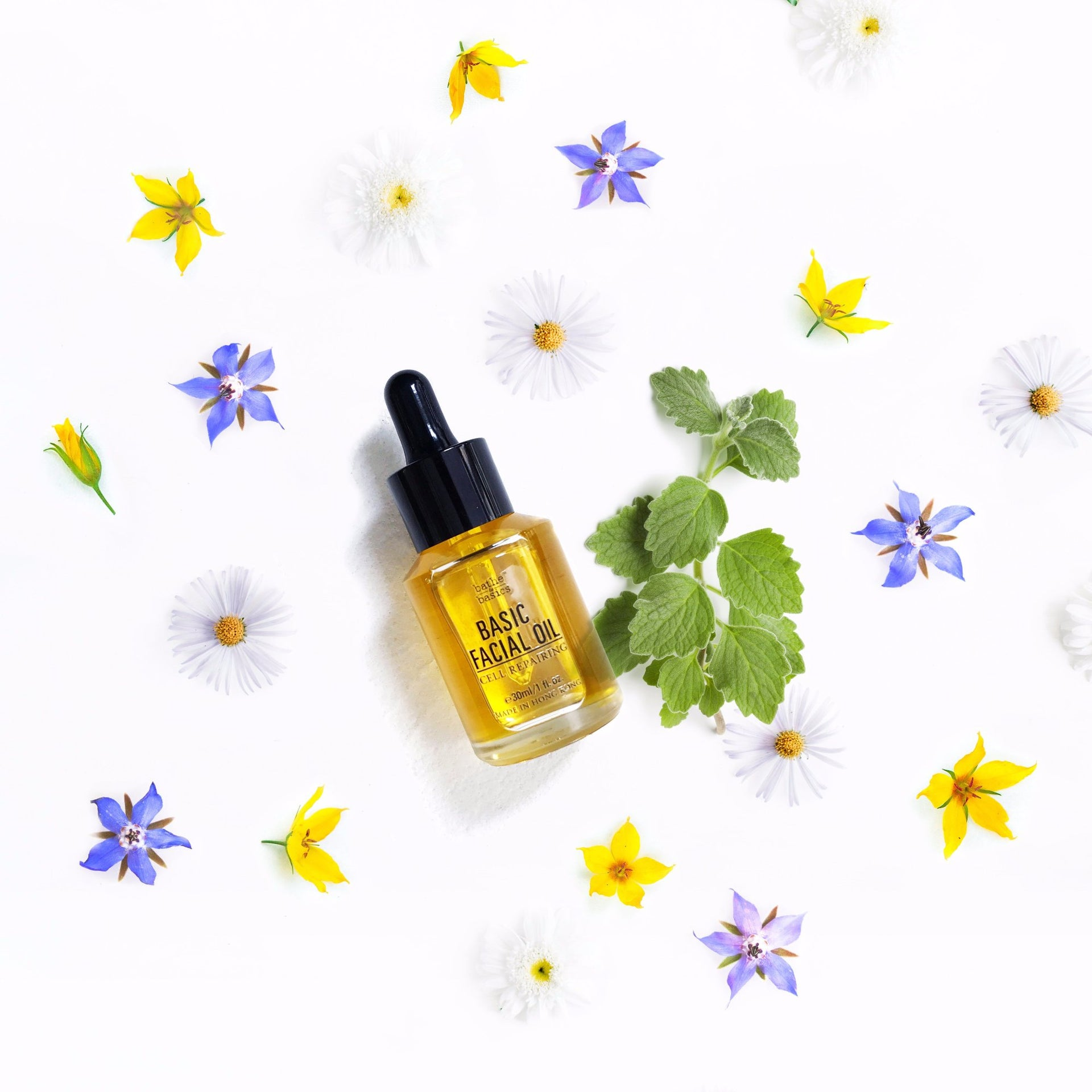 Natural Basic Facial Oil - Cell Repairing - Bathe to Basics