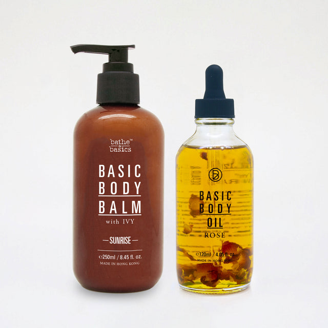 Basic Body Balm & Basic Body Oil