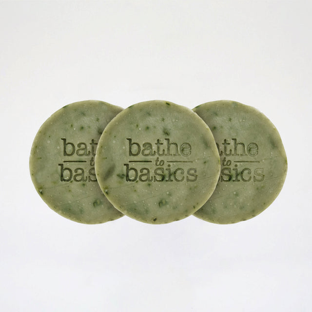Triple Pomelo Leaf Soap Set
