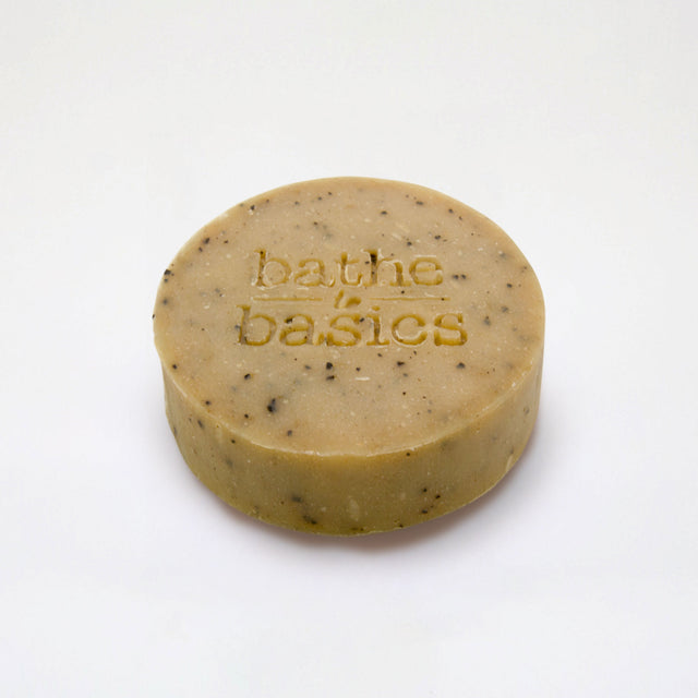 Natural Coffee Ginger Soap - Bathe to Basics