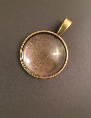 Make Your Own Pendant - Round 20mm Cabochon Kit