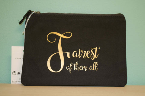 Fairest of them all - Medium makeup bag