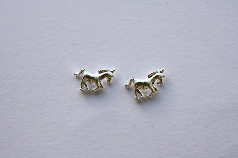 Unicorn silver charms
