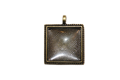 Make Your Own Pendant – Square 25mm Cabochon Kit