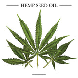 Hemp Seed Oil leaves