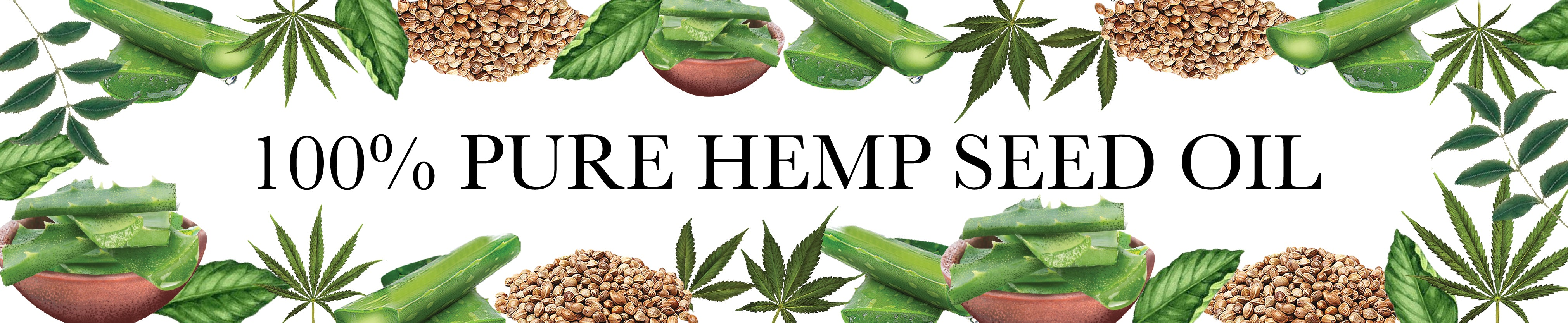 100% Pure Hemp Seed Oil