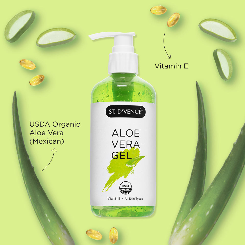 USDA Organic Aloe Vera Gel, 300 ml