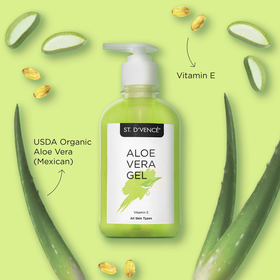 USDA Organic Aloe Vera Gel, 275 ml