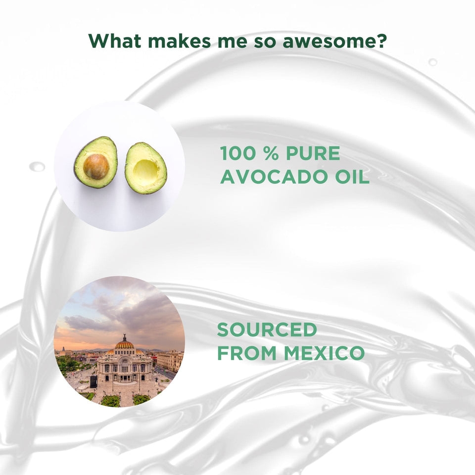 100% Pure Mexican Avocado Oil,100 ml