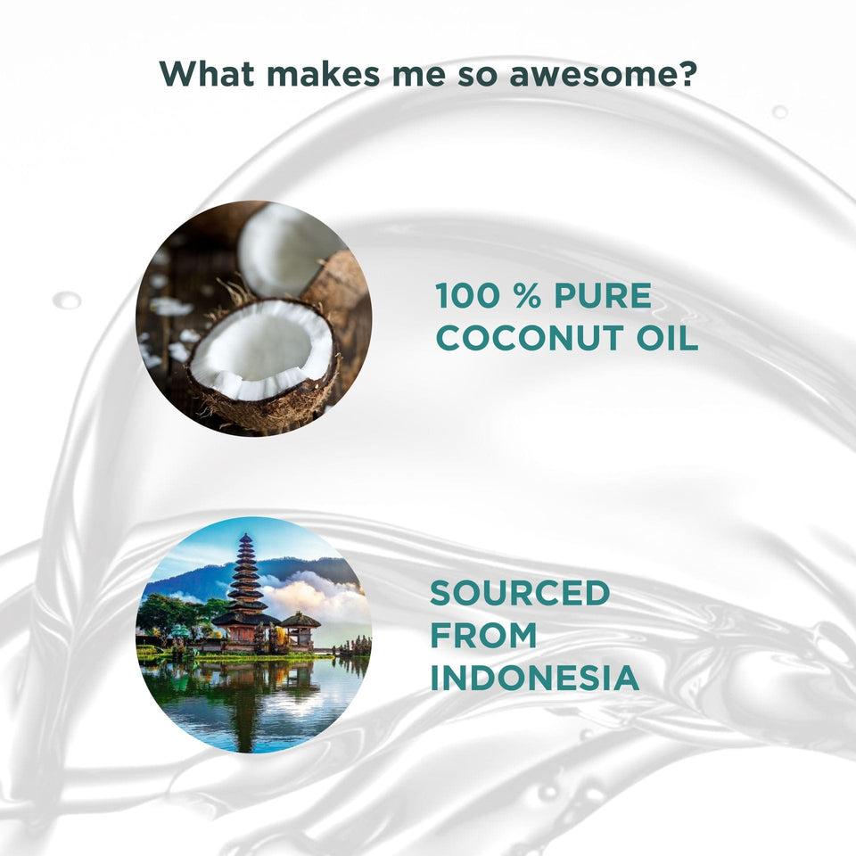 100% Pure Indian Coconut Oil, 100 ml
