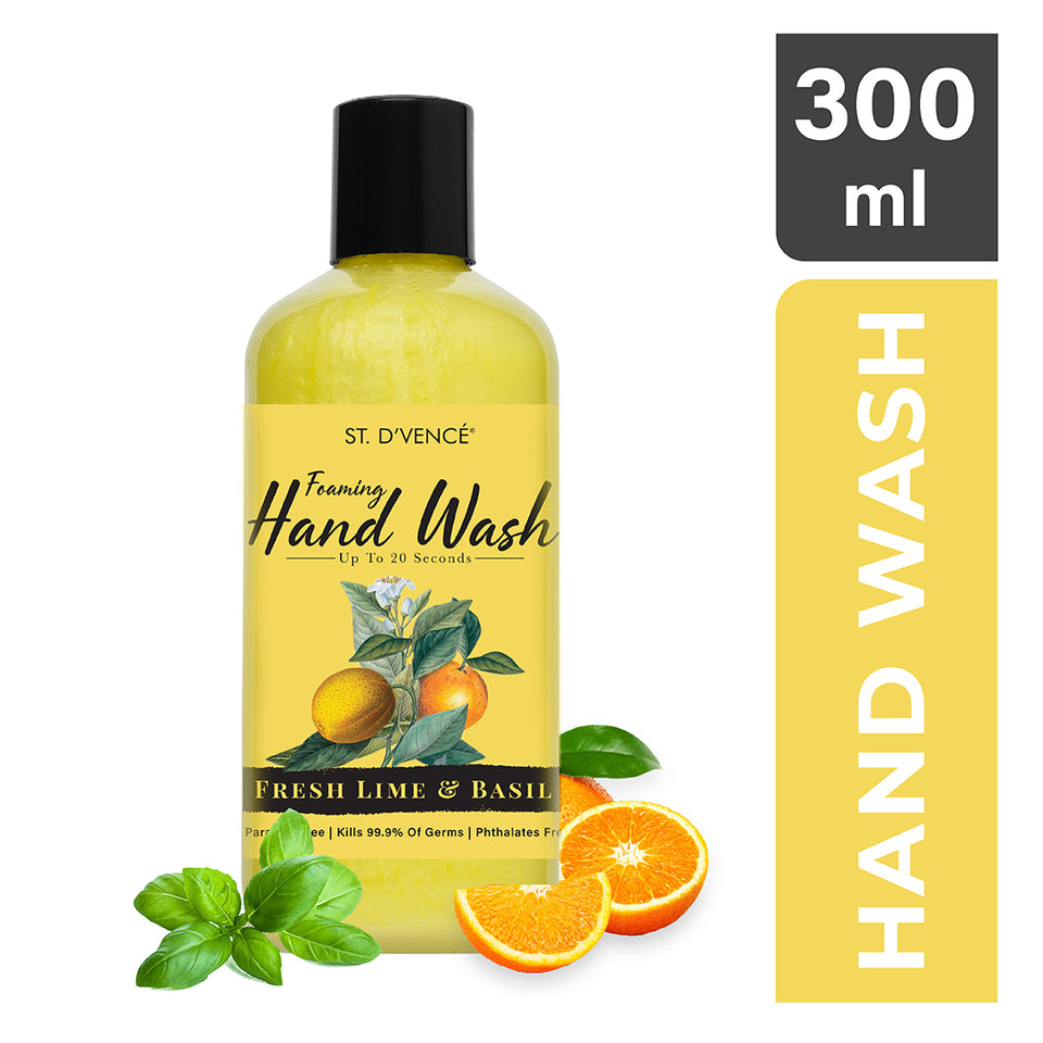 Hand Wash - Lime & Basil, 300 ml