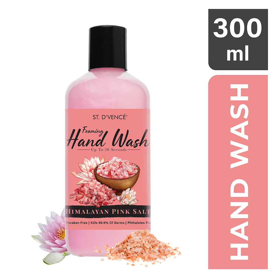 Hand Wash - Himalayan Pink Salt & Water Lily, 300 ml