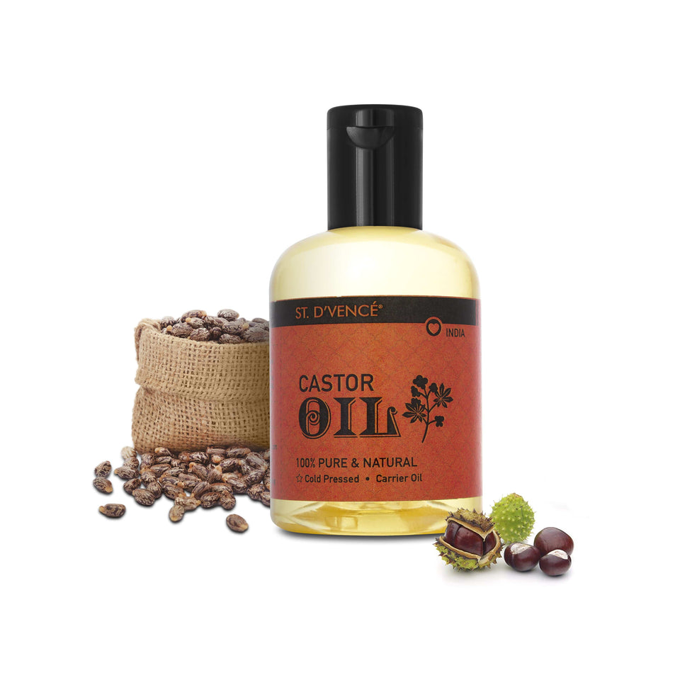 100% Pure Indian Castor Oil, 100 ml