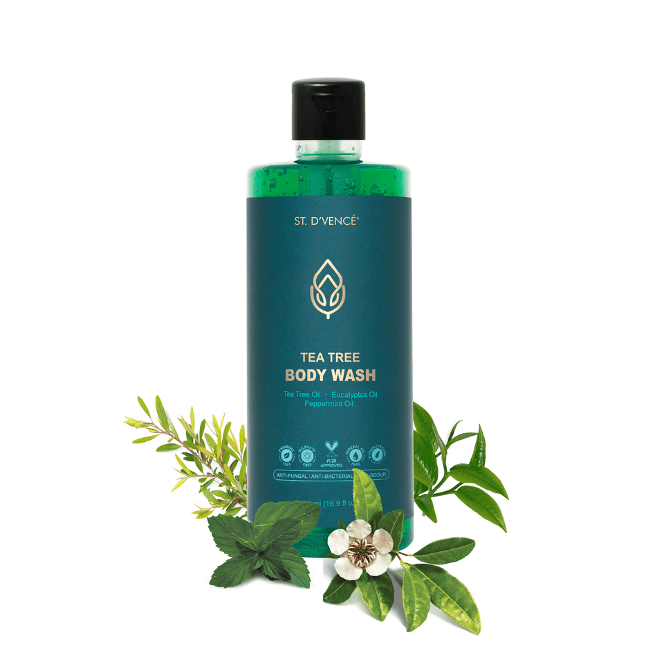 Tea Tree, Eucalyptus & Peppermint Oil Body Wash, 500 ml