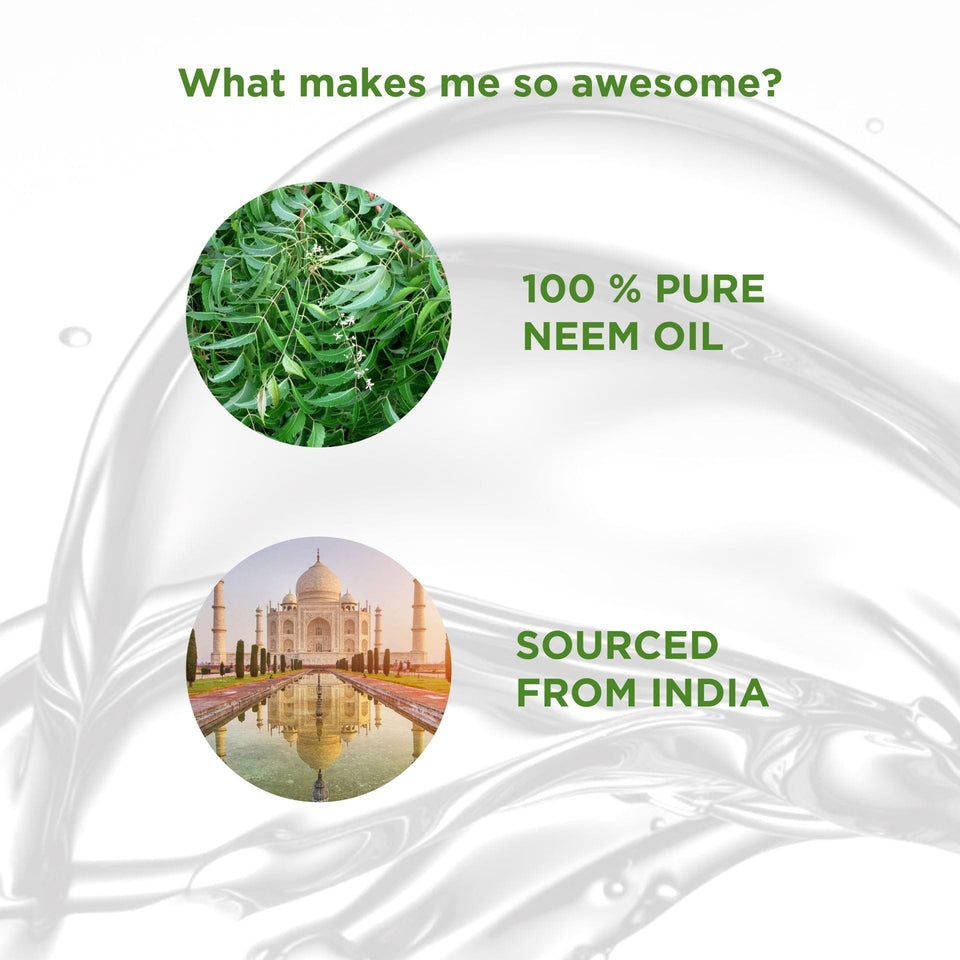 100% Pure Indian Neem Oil, 100 ml