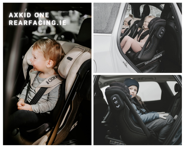 Axkid One Child Car Seat Rearfacing.ie