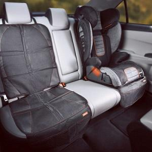 Diono Ultra Mat for vehicle seat protection when using a children's car seat.
