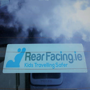 Rearfacing.ie car sticker