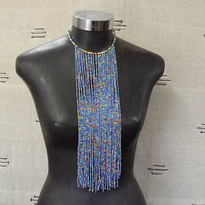 Blues Waterfall Necklace