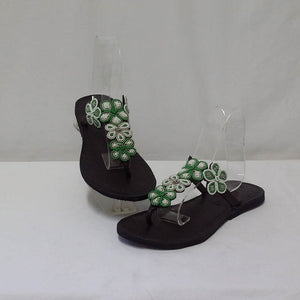 5 Flower Slip On Flat