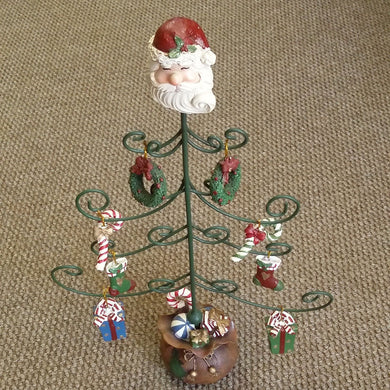 Metal Christmas Tree with Gifts