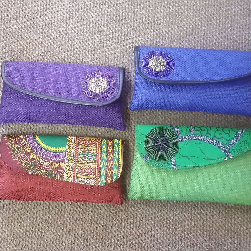 Medium Clutch Bags From Kenya (Decorative Fabric)