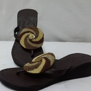 Spiral Slip On Wedge