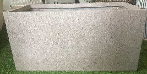 Long Beige Polystone Trough