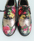 U. Andress Floral Oxford Shoes