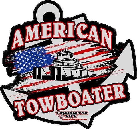 American Towboater Decal