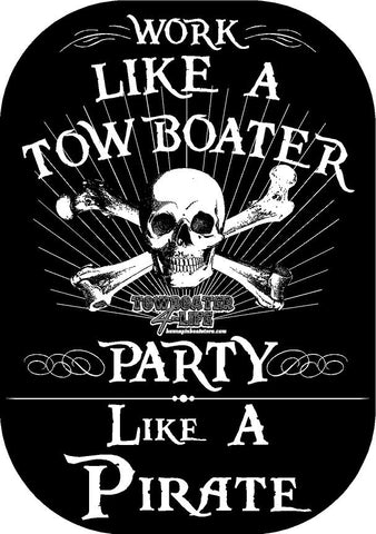 Party Like a Pirate Decal
