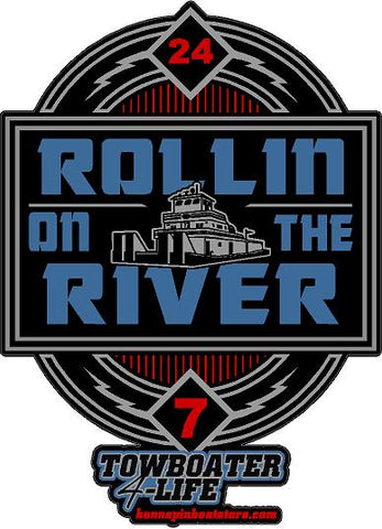 Rollin On The River Decal