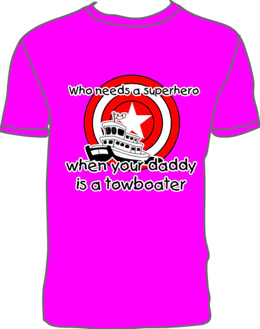 Towboat Super Hero - Pink