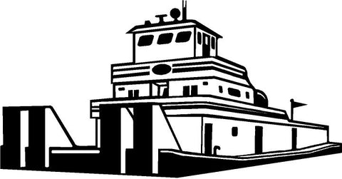 Towboat Decal