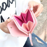 Mini Lovely Leather Wallet