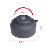 Outdoor Kettle Camping Picnic Water Teapot Coffee Pot 1.4L Aluminum