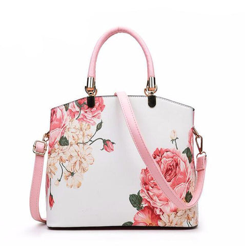 Flower Patterned Women Bag