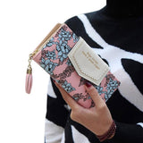 Patterned Women Wallet