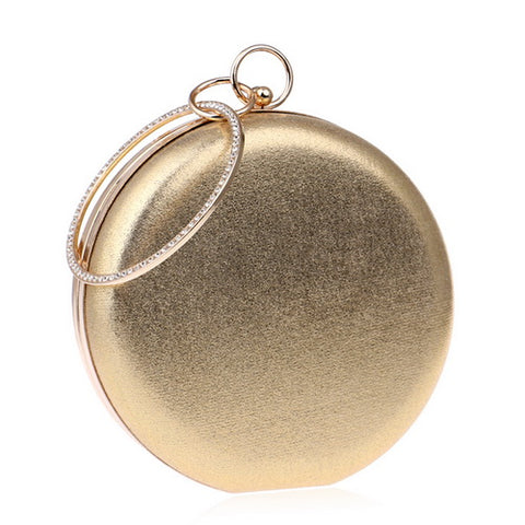Round Shaped Women Evening Bags