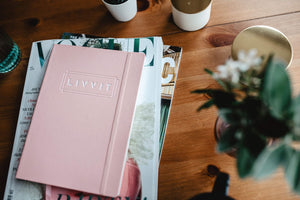2019 LIVVIT Rose Peach Planner